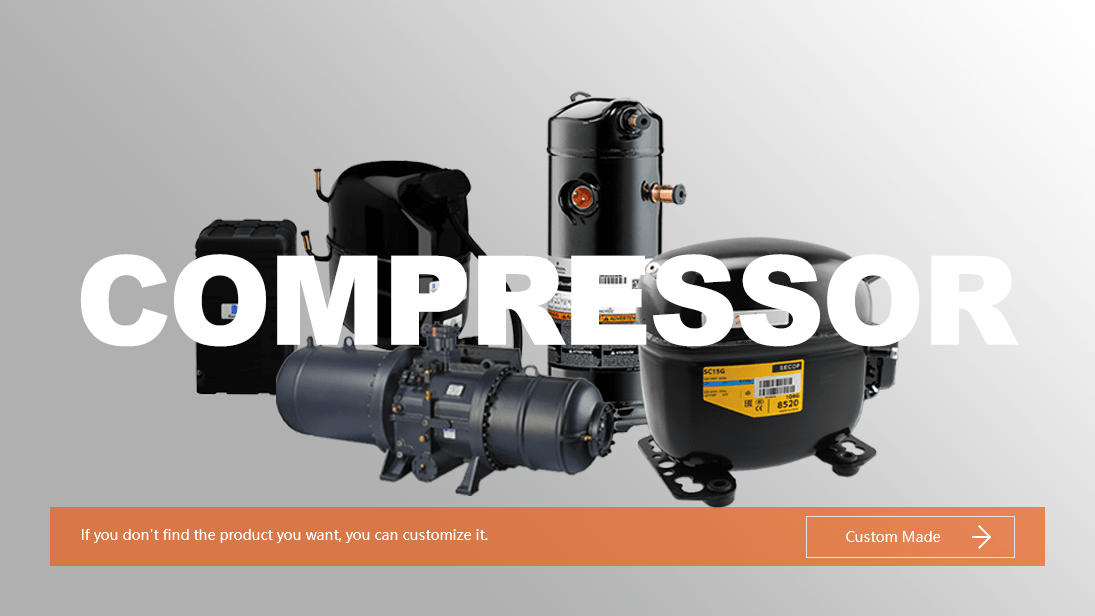Refrigeration Compressor Online, Compressor customization