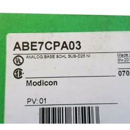 Schneider  Base connection for counter + analog channel  PLC ABE7CPA03, okmarts Online