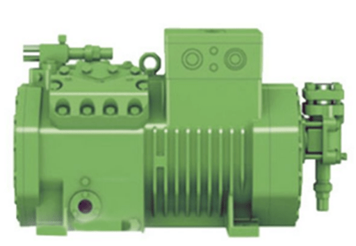 image of complete body of Bitzer compressor 2CES-3